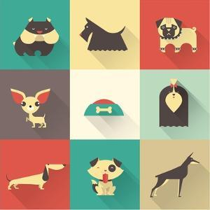 Vector Dog by vector pro
