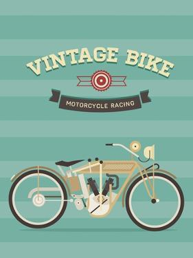 Vintage Bike by vector pro