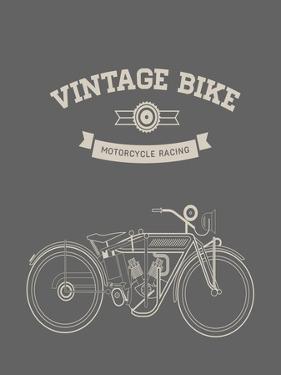 Vintage Bike by vector pro