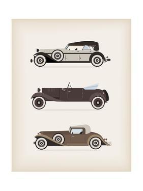 Vintage Car by vector pro