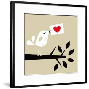 Bird Love Card by vector-RGB