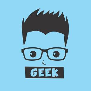 Geek Cartoon Character by vector1st