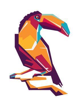 Bird Toucan by vectorizer88