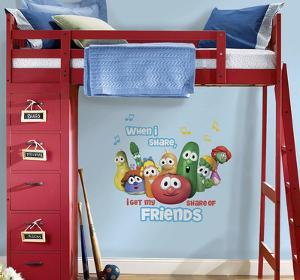Veggie Tales Peel and Stick Giant Wall Decal