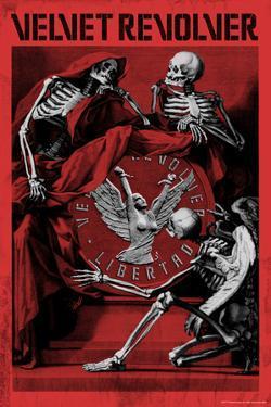 Velvet Revolver - Libertad Skeletons