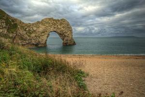 Unesco World Heritage Site Jurassic Coast Dorset England Uk by Veneratio