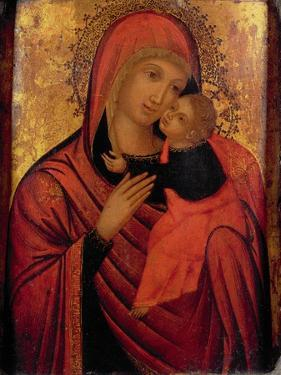 Madonna and Child, C.1650 (Panel) by Veneto-Byzantine