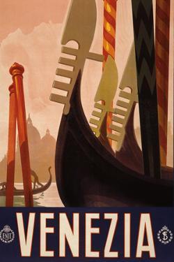 Venezia Italy Tourism Travel Vintage Ad