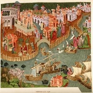 Venice, 1338, after a Manuscript in the Bodleian Library, from 'A Short History of the English…