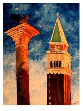 Venice Campanile by M Bleichner