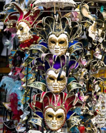 Venice Carnival Masks Italy