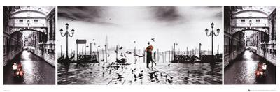 Venice (Triptych) Art Poster Print