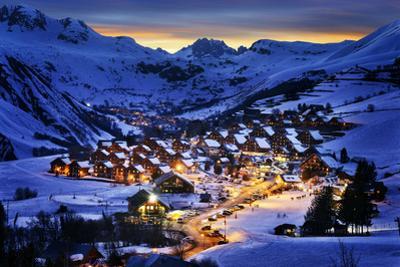 Saint-Jean D'arves, Alps, France by vent du sud
