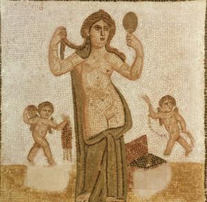 Venus at Her Toilet, from Thuburbo-Majus, Roman, 3rd Century AD