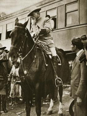 Venustiano Carranza on Horseback, C.1913