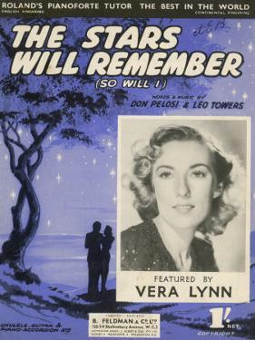 Vera Lynn Popular English Singer: The Stars Will Remember