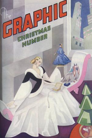 The Graphic Christmas Number Front Cover 1931 by Vera Truman