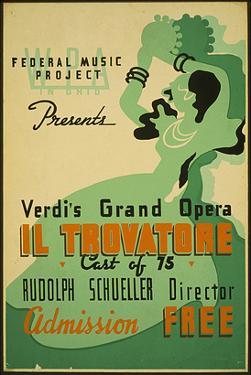 Verdi Grand Opera Il Trovatore