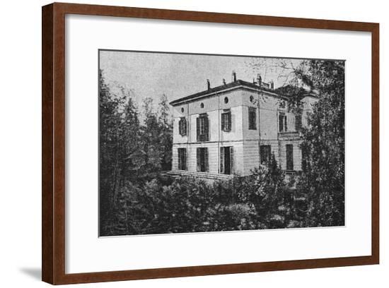 Verdi Sant' Agata Home--Framed Giclee Print