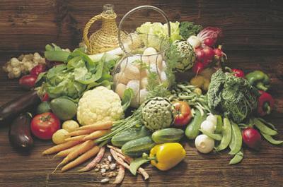 Verdura Fresca (Fresh Vegetables Still Life) Art Print Poster