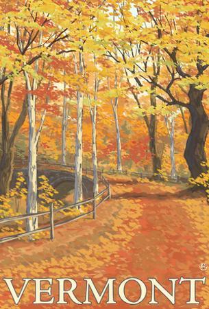 Vermont, Fall Colors Scene