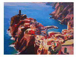 Vernazza Cinque Terre by M Bleichner