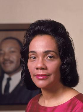 Coretta Scott King, Widow of Civil Rights Leader Martin Luther King, Jr by Vernon Merritt III