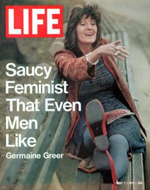 Feminist Germaine Greer, May 7, 1971 by Vernon Merritt III
