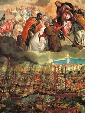 Allegory of the Battle of Lepanto by Veronese