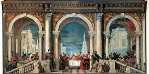Christ in the House of Levi by Veronese