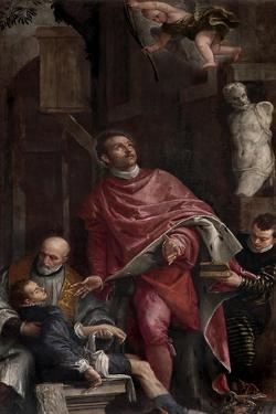St. Pantaleon Healing a Child by Veronese