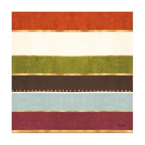 Autumn Otomi Pattern III by Veronique Charron