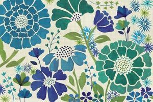 Blue Garden by Veronique Charron