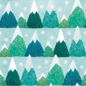 Festive Forest Pattern IIB by Veronique Charron