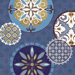 Mediterranean Blue II by Veronique Charron