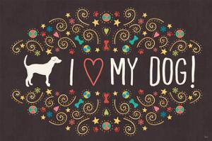 Otomi Dogs I Dark by Veronique Charron