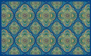 Peacock Paradise III by Veronique Charron