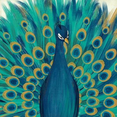 Proud as a Peacock I by Veronique Charron