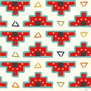 Tex Mex Fiesta Pattern III by Veronique Charron