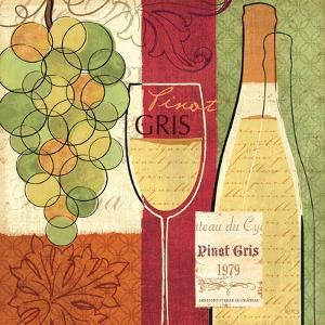 Wine and Grapes II by Veronique Charron