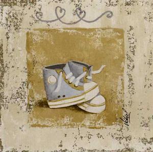 Chaussures Bleues by Véronique Didier-Laurent