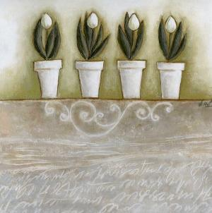 Pots de Tulipes by Véronique Didier-Laurent