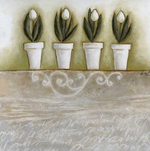 Pots de Tulipes by Véronique Didier-Laurent