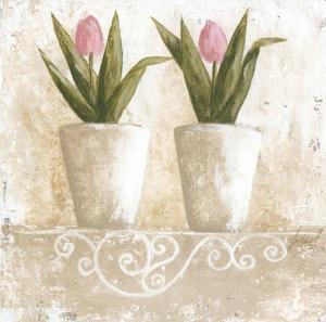 Tulipes en Pot by Véronique Didier-Laurent