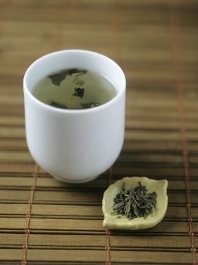 Japanese Sencha Green Tea by Veronique Leplat
