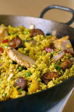 Paella by Veronique Leplat