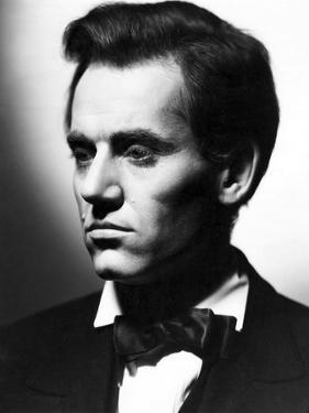Vers sa Destinee YOUNG MR. LINCOLN by JohnFord with Henry Fonda, 1939 (b/w photo)