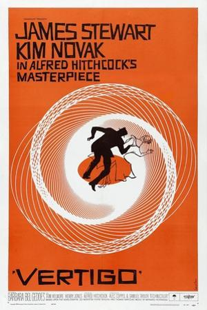 Vertigo, 1958, Directed by Alfred Hitchcock