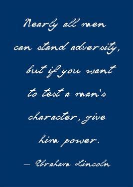 A Man's Character by Veruca Salt