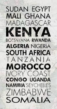 African Countries I by Veruca Salt